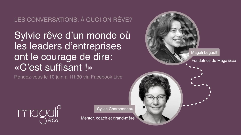 Sylvie Charbonneau 10 juin : Croissance : quand est-ce assez?