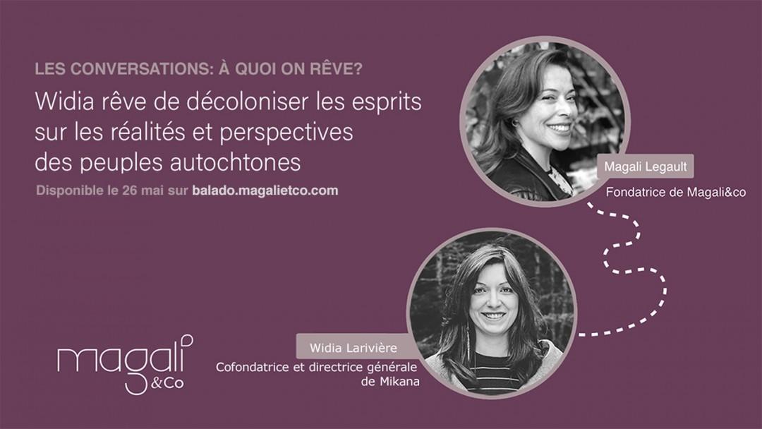 Widia Larivière 26 mai : Décoloniser nos esprits face à la réalité autochtone